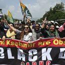 """Протест на """"Трафалгар сквер"""" во Лондон укинувањето на специјалниот статус на Кашмир"""