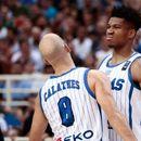 Адетокумбо супериорен, Грција со лесна победа над Италија