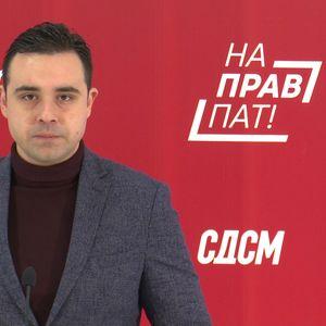 Костадинов: Дали долгот од 400.000 евра за кампањата е причина зошто ВМРО-ДПМНЕ го кочи изборот на директор на Државниот завод за ревизија?