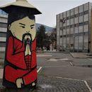 Уметници со мурали го разубавија просторот околу Универзална сала