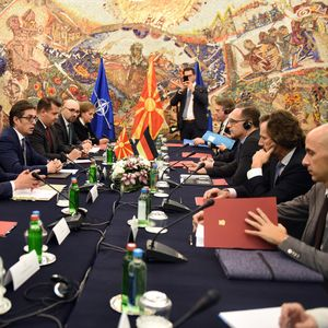 Пендаровски до Мас: Европската интеграција останува наша стратешка цел