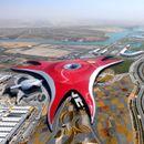 """(Видео) Паркот на """"Ферари"""" во Абу Даби прогласен за најдобар тематски парк во светот"""