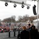 Трамп стана првиот американски претседател кој учествувал на Маршот за живот