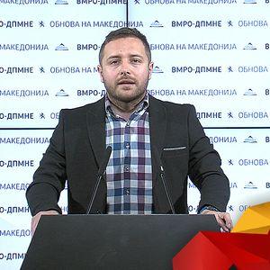 """Арсовски: : Русковска и Јовевски да го сработат сериозно случајот околу вмешаноста на Заев во """"Рекет"""""""