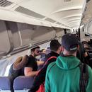 Повратници од работа на брод пиеле и пушеле на лет за Подгорица, на крај ја нападнале и стјуардесата