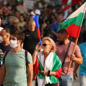 Антивладини протести во Бугарија