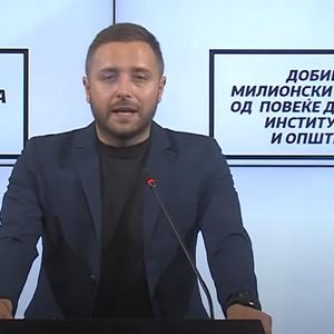 Арсовски: Омилената агенција за обезбедување на власта добива државни и општински тендери со вртоглави суми
