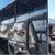 (Видео) Гори цивилен автобус погоден од азербејџански дрон