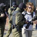 Уапсени 53 лица на протестите во Белорусија