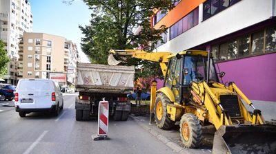 Реконструкција на улицата Васил Ѓоргов во Капиштец