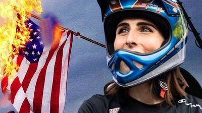 Сака да освои олимписки медал за да го запали американското знаме на подиумот