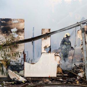 Шилегов: Со брзата реакција на хероите на градот се спречи поголема материјална штета од пожарот