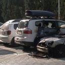 Во 03:00 часот по полноќ, запалени возилата на Ребека и Сузана Турунџиева