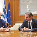 Мицотакис го поттикнал Хафтар на конференцијата во Берлин да заземе конструктивен став