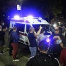 Брза помош спречена да стигне до Српскиот парламент