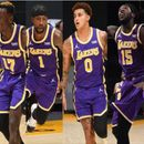 Шест играчи со двоцифрен ефект во новиот триумф на ЛА лејкерс