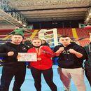 Милена Стојановска државен јуниорси првак во кик бокс лајт