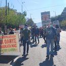 Протест во Атина за зајакнување на јавното здравје