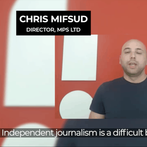 This guy told you to support independent journalism. A bit like him.