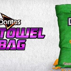 Платнена торбичка за бришење прсти од Доритос