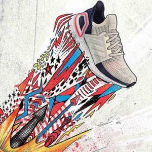 Погледнете ја кампањата за новите редизајнирани adidas Ultraboost 19 патики создадени за новата ера на трчање