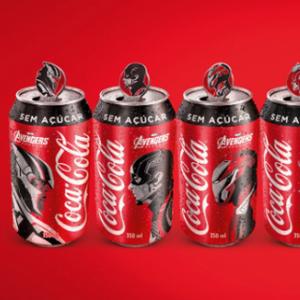 """Специјална серија Coca-Cola лименки со колекционерски значки од """"Avengers"""""""
