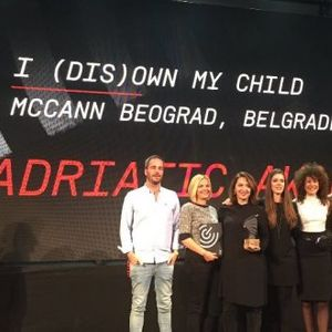 McCann Beograd прогласена за најуспешна агенција во Јадранскиот регион на Golden Drum