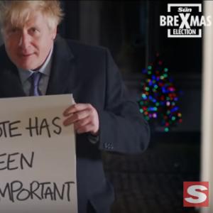 Борис Џонсон ја ископира познатата филмска сцена во неговата кампања за претстојните изборите