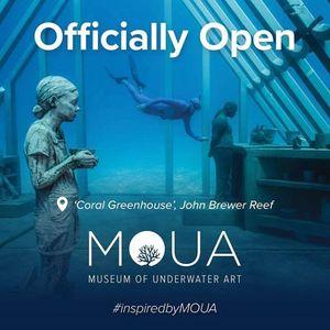 Отворен првиот подводен музеј во светот