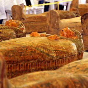 Неверојатно: Откриено што се наоѓа во саркофазите пронајдени во Египет