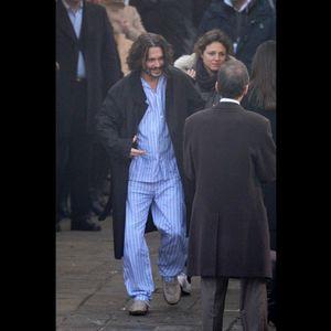 Познати мажи по пижами низ град