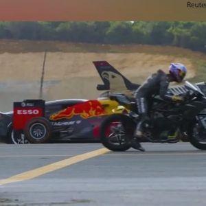 Кој победи: Трка на Формула 1, супербрејк, воен ловец, супер автомобили приватен џет