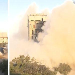 Осмо светско чудо: Кривата кула во Далас- ни динамит не ја сруши