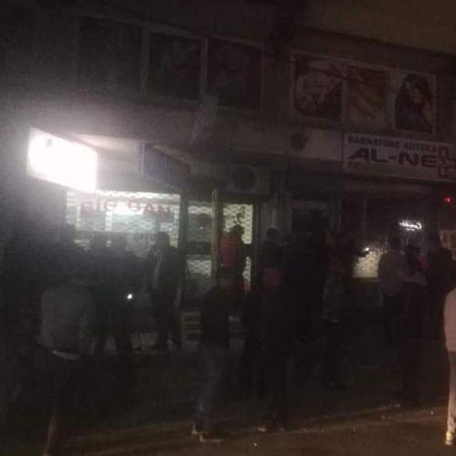 Ограбена аптека во Чаир, дошол сопственикот му се слошило и починал