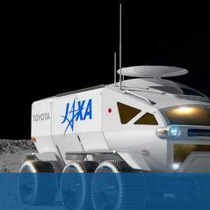 Това е лунният превоз за японските астронавти