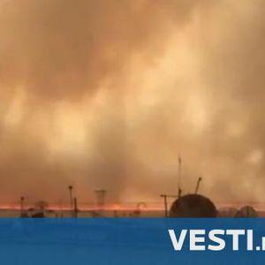Огромни пожари и сцени от ада в Русия