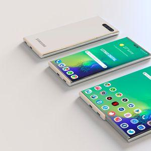 Samsung патентова нов вариант на сгъваем смартфон