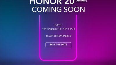 Премиерата на Honor 20 ще е на 21 май в Лондон