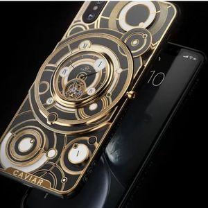 Caviar представи iPhone XS с истински механичен часовник