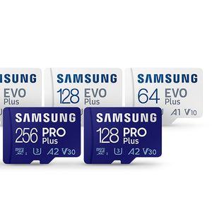 Samsung с по-бързи microSD и SD карти за обикновени потребители и професионалисти