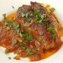 Лепеза од модри патлиџани и мелено месо