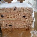 Роденденска торта со лешници и бисквити