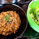 Интегрален ориз со спанаќ (посно, без запршка)