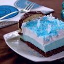 Снежна панакота торта (Frozen panna cota cake)