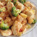 Пилешко бело месо со мустарда и со зеленчук