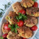 Плескавици од зеленчук со пченкарно брашно