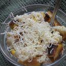 Салата од макарони, туна и печена тиква