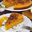 Морков торта со мусли и портокал (посно, без миксер)