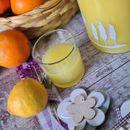 Домашен сок од мед, лимон и портокал (без варење)