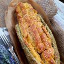 Пита во форма на пченка со зелка и печурки